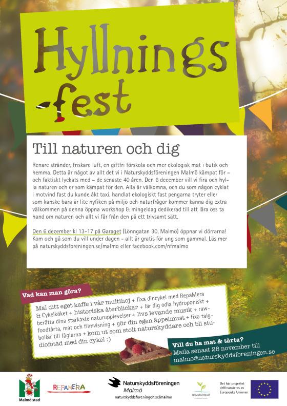 Naturskyddsföreningen Malmö 40-årsfest